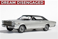 1966 Ford Galaxie 500 7-Litre Hardtop Enthusiasts Edition in Silver Frost 1:24