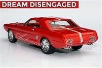 1963 Ford Mustang II Concept Tribute Edition 1:24 in Tribute Red
