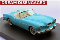 1954 Kaiser Darrin 161 Cabriolet Enthusiasts Edition 1:24 Robin Egg Blue