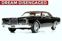 1971 Lincoln Continental Mark III Homage Edition Black 1:24