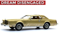 1978 Lincoln Continental Mark V Diamond Jubilee 1:24 Jubilee Gold