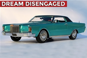 1970 Lincoln Continental Mark III 1:24 Bright Aqua Metallic