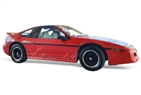 1988 Pontiac Fiero GT</br>Bright Red 1:24