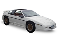 1988 Pontiac Fiero GT</br>White 1:24