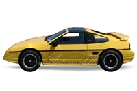1988 Pontiac Fiero GT</br>Encomium Edition in Yellow 1:24