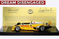 1981 Gurney Eagle Challenger Tribute Edition 1:43 Hand-signed by Geoff Brabham