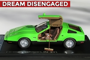1974 Bricklin SV1 1:43 Founders Edition Safety Green