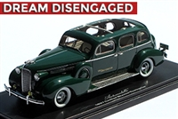 1937 Broadmoor Cadillac Skyview Touring Car 1:43 Hand-signed Limited Edition of 9