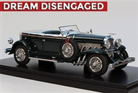 1932 Duesenberg J Murphy-bodied Torpedo Convertible Coupe Museum Edition 1:43
