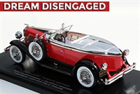 1932 Duesenberg J Murphy-bodied Torpedo Convertible Coupe Tribute Edition Red 1:43
