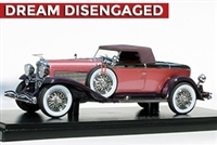 1932 Duesenberg J Murphy-bodied Torpedo Convertible Coupe Tribute Edition Violet 1:43