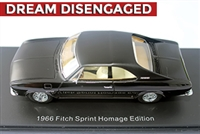 1966 Fitch Sprint Homage Edition with John Fitch Hand-Signed Autograph 1:43