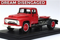 1950's Ford F600 1:43 Tribute Edition Red