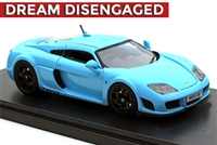 2011-2016 Noble M600 in Baby Blue Prototype 1:43