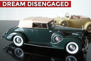 1938 Packard Twelve Convertible Victoria 1:43