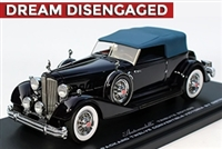 1934 Packard Twelve Convertible Victoria by Dietrich Tribute Edition 1:43