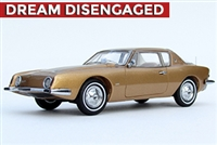 1963 Studebaker Avanti Supercharged 1:43 Gold Metallic