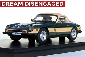 1976 - 1979 TVR 3000M Enthusiasts Edition British Racing Green 1:43