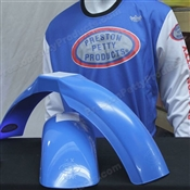 MX Front/MX Rear fenders with vented jersey