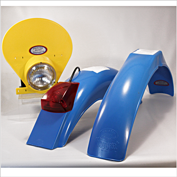 IB Muder IT Rear fenders Blue yellow HLNP