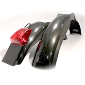 MX front and IT rear fenders Black