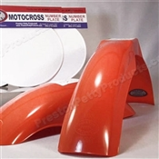 MX Front/MX Rear fenders (white number plate set