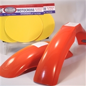 MX Front/MX Rear fenders (yellow number plate set 3)