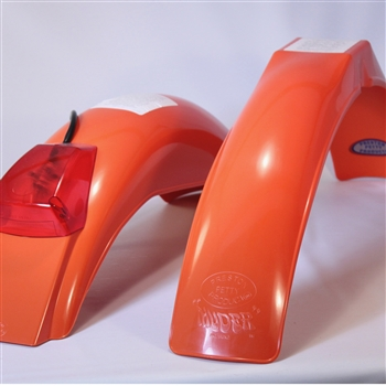 IB Muder and IT rear fenders Dark Orange