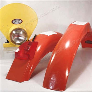 IB Muder IT Rear fenders Dark Orange yellow HLNP
