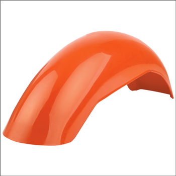 MX Rear Fender - Dark Orange