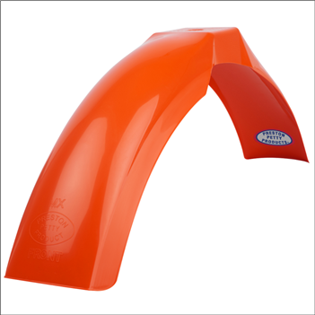 MX Front Fender - Dark Orange