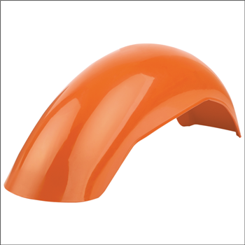 MX Rear Fender - Pumpkin Orange