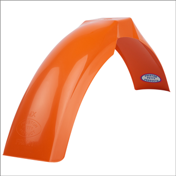 MX Front Fender - Pumpkin Orange