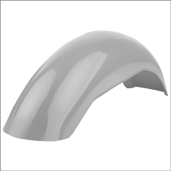 MX Rear Fender - Silver