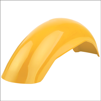 MX Rear Fender - Yellow