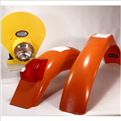 IB Muder IT Rear fenders Pumpkin Orange yellow HLNP