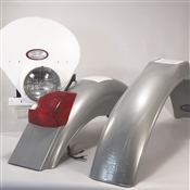 IB Muder IT Rear fenders Silver White  HLNP