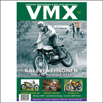 Collectable VMX Magazine 61
