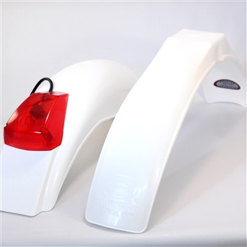 IB Muder and IT rear fenders White