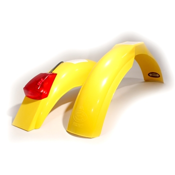 MX front and IT rear fenders Yellow