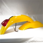 Preston Petty IT Rear Fender Kit - yellow