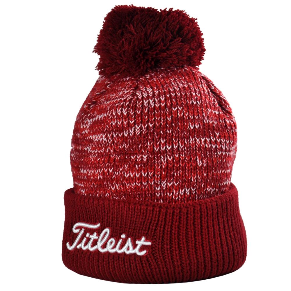 Titleist Pom Pom Beanie Winter Hat Cap Toboggan 9435c5108f6b