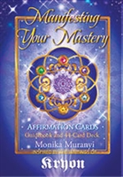 "<html><body><h2><span style=""font-size:14px;"">Affirmation Card Deck</span><br />Manifesting Your Mastery<br /><span style=""font-size:14px;"">by Monika Muranyi</span></h2></body></html>"