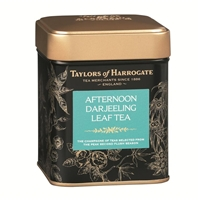 Taylors of Harrogate Afternoon Darjeeling - Loose Tea Tin Caddy 4.4oz