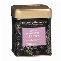 Taylors of Harrogate China Rose Petal - Loose Tea Tin Caddy 4.4oz
