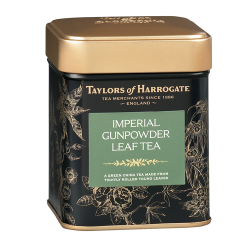 Taylors of Harrogate Imperial Gunpowder - Loose Tea Tin