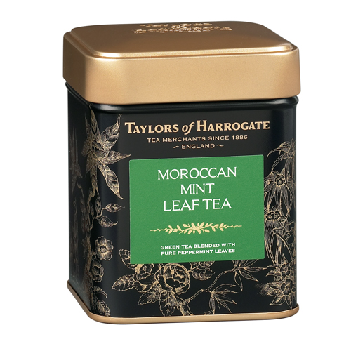 Taylors of Harrogate Moroccan Mint Green - Loose Tea Tin
