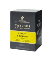 Taylors of Harrogate Lemon & Ginger - 20 Wrapped Tea Bags