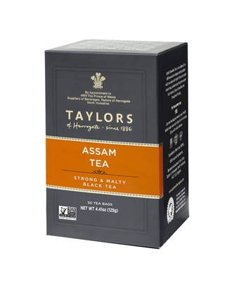 Taylors of Harrogate Pure Assam - 50 Tea Bags