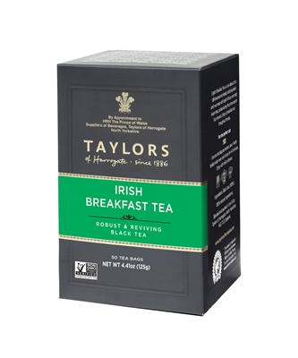 Taylors of Harrogate Irish Breakfast - 50 Tea Bags